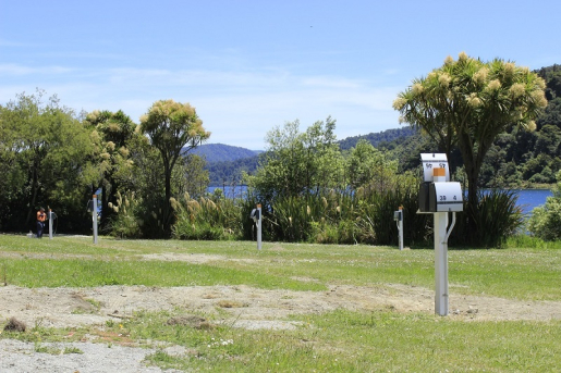 Waikaremoana Holiday Park Power Boxes.JPG
