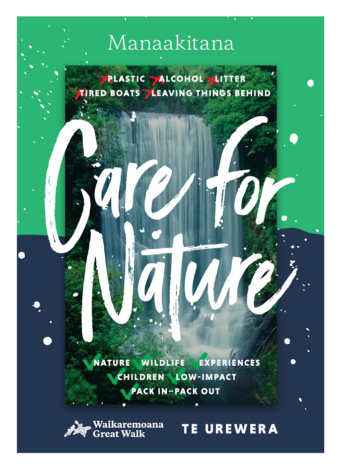 Waikaremoana - Care for Nature - PRINT-01